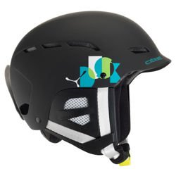 Kask Narciarski CEBE Dusk Junior Matt Black Name