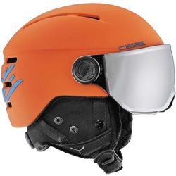 Juniorski kask narciarski Cebe Fireball Junior Matt Orange Blue