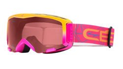 CEBE Juniorskie Gogle Narciarskie Super Bionic Pink Dark Rose Flash S