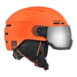 Cébé Kask narciarski Fireball Matt Orange - Grey Flash Mirror Cat.3 - Yellow Flash Mirror Cat.1