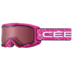 Juniorskie gogle narciarskie Cebe Bionic Matt Rose Light Rose Cat. 2