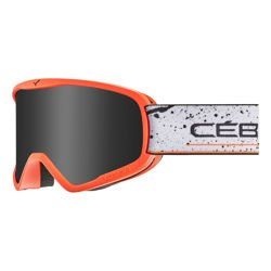 Cébé Gogle narciarskie RAZOR L Matt Orange Black Grey Ultra Black Cat.3