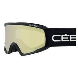 Gogle narciarskie CEBE Fanatic L Black Yellow Flash Mirror Cat.1