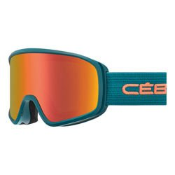 Cébé Gogle narciarskie STRIKER Evo Matt Lagoon Orange Grey Dark Flash Red Cat.3
