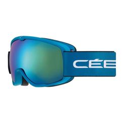 Cebe Juniorskie gogle narciarskie Artic Matte Blue White Brown Flash Blue Cat. 3
