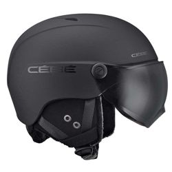 Cébé Kask narciarski Contest Vision Matt Black Grey Ultra Black Cat. 3