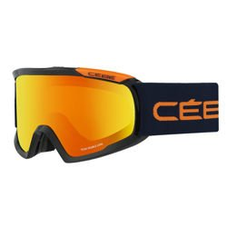 Gogle narciarskie CEBE Fanatic L Black & Orange Orange Flash Fire