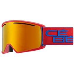 Cébé Gogle narciarskie Core L Matt Red Navy Orange Flash Fire Cat.2