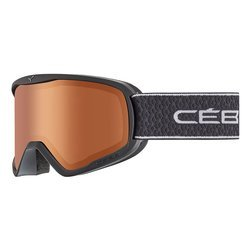 Cébé Gogle narciarskie RAZOR L  Matt Black  PC Vario Orange Cat.2-3