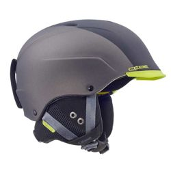 Kask narciarski Cebe Contest Visor Ultimate Matt Black Metallic Dark Grey