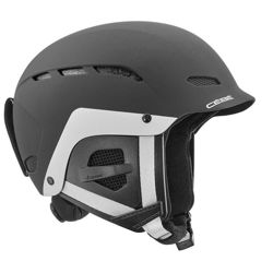 Kask narciarski Cebe Dusk Junior Matt Black White