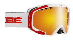 Gogle narciarskie CEBE Hurricane M White & Red Orange Flash Fire